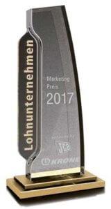 Lohnunternehmen Marketingpreis 2017