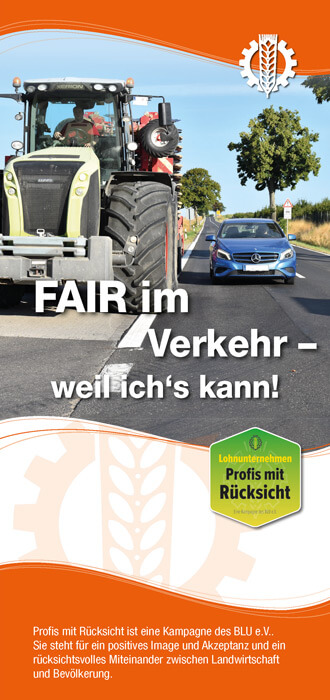 Titel Folder Fair im Verkehr